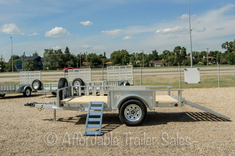 SOLD, More Coming! 2021 MVM 5' x 10' (All Galvanized Steel) Utility Trailer